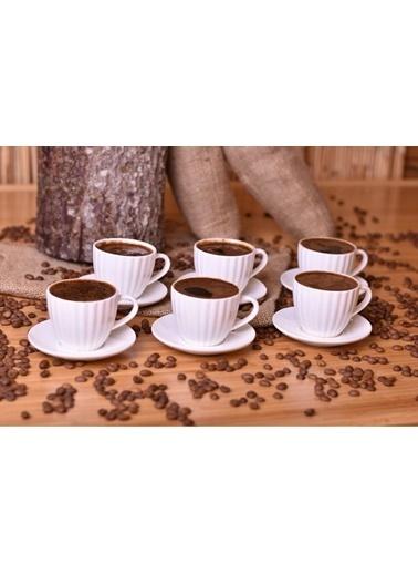 Bambum Narvari Kahve Fincan Takımı Seti - 12 Prç.Kahve Fincanı Renkli